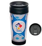 16 oz BPA Free Travel Mug