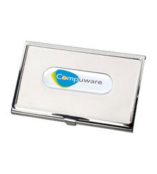 Promotional N-Dome™ Business Card J7-N Holder