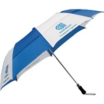 Custom Vented Folding 58-Inch Golf Umbrella