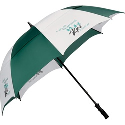Promotional Course Vented 62-Inch Golf Umbrella