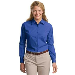 Ladies Long Sleeve Port Authority Easy Care, Soil Resistant Shirt
