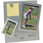 Logo Imprinted Magnetic Frame w-Stand