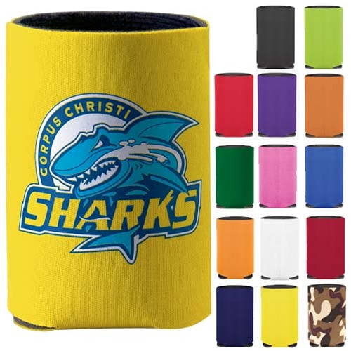 Personalized Collapsible Can Logo Printed Koozie Kooler