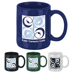 Marble Ceramic 12 oz Promotional Mugs | Custom Promo Mugs