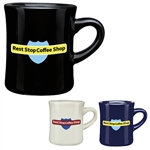 12 oz CuppaJo Diner Custom Coffee Mug