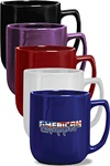 Promotional Ceramic Noble Mug 17oz