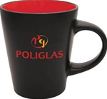 Noir Ceramic Mug 12 oz