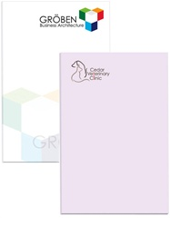 "2"" x 3"" Logo Imprinted Adhesive Notepads 