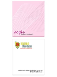 "Bic Imprinted Adhesive 2 3/4"" X 3"" Notepad"