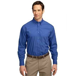 Men's Long Sleeve Port Authority Easy Care, Soil Resistant Shirt