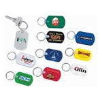 Personalized Soft Rectangular Keychain