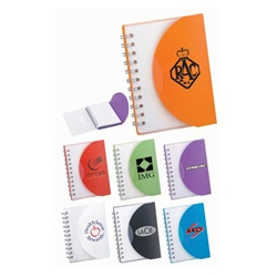 Personalized Post Spiral Junior-Sized Notebook