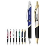 Logo Imprinted Three-Sided Metal Pen
