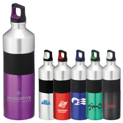 Custom Nassau Aluminum Water Bottle 25oz