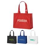 Custom Imprinted Rumba Laminated Logo Tote