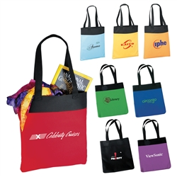 Logo Deluxe Convention Imprinted Tote Bag