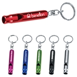 Promotional Key Ring Metal Whistle