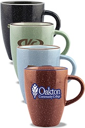 Custom Ceramic Taza Speckled Mug 13oz