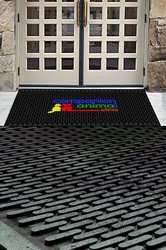 Personalized 2.5' X 3' Logo Printed Outdoor Mat