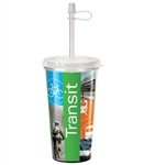Full Color Thermal Acrylic Tumbler 16 oz