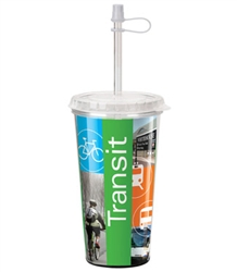 Promotional Full Color Acrylic Thermal Tumbler 16oz