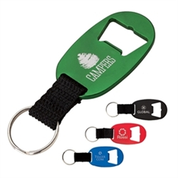 Personalized Logo Bottle Opener w-Keyring