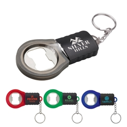 Custom Bottle Opener w-Translucent Ring