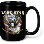 Promotional Black Mighty Ceramic Mug 15oz