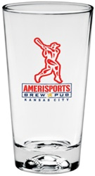 Promotional Sport Baseball Mixing Glass 16oz