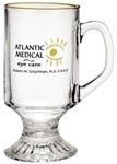 Logo 10 oz. Champion Irish Glass Coffee Mug