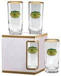 Logo 12 oz. Deluxe Beverage Glasses
