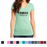 Printed District® Very Important Juniors' V-Neck Tee®
