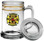 Personalized Glass Maritime Tankard 15oz