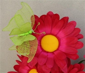 Giant Mesh Butterflies - Large Butterfly Decorations - Party Decor