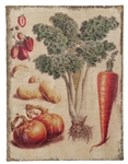 Vegetable Art Fresco - Kitchen Wall Print