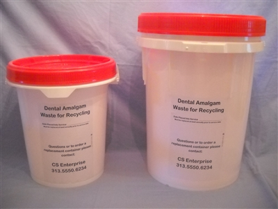 Amalgam Waste Collection Containers