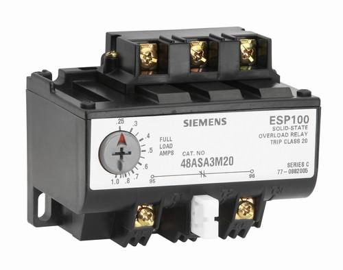 Find siemens 48asd1m20 overload relay at guardian for Siemens motor starter catalog pdf