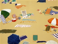"""Beach Day"", Valerie Johnson Giclee"