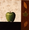 """Green Apple"", John Boyd Monoprint"