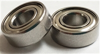 10P-SMR103C-ZZ/P58 A7 LD, Metric, Radial Bearings, (3x10x4 mm), ABEC357, Ceramic Hybrid ABEC 7 Metal shielded Bearings. Stainless Steel rings/retainer, Ceramic Si3N4 balls, Metal shields, lube dry, ABEC #7.