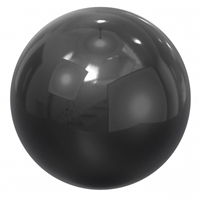 3/32 IN-C Si3N4 GR.5 BALLS, 3/32 in / 0.0937 in / 2.3812 mm, Pack of 10, ABEC357