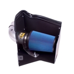 AIRAID INTAKE SYSTEM WITH COLD AIR DAM 1996-2000 GM Full Size Trucks & SUVs 4.3L, 5.0L, 5.7L Vortec Engines (Blue- Dry Filter) -- 203-207