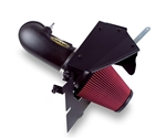 Airaid 2009-2015 Cadillac CTS-V 6.2L V8 Cold Air Intake System (Red- Dry Filter) (Matte Black Finish) -- 251-253