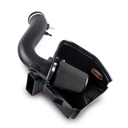 Airaid 2011-2014 Mustang 3.7L V6 MXP Series Intake System (Black- Dry Filter) -- 452-265