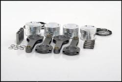 2.0T FSI JE Pistons / IE Rods Combo- 83.5mm Bore