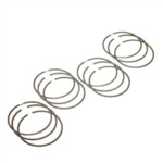 JE Replacement Piston Ring Set 4 Cylinder 81MM