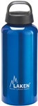 Classic Water Bottle Wide Mouth Screw Cap with Loop 20oz Blue
