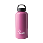 Classic Water Bottle Wide Mouth Screw Cap with Loop 20oz, Pink