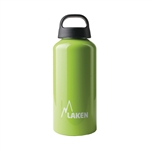 Classic Water Bottle Wide Mouth Screw Cap with Loop 20oz, Apple Green