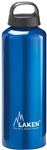 Classic Water Bottle Wide Mouth Screw Cap with Loop 34oz Blue